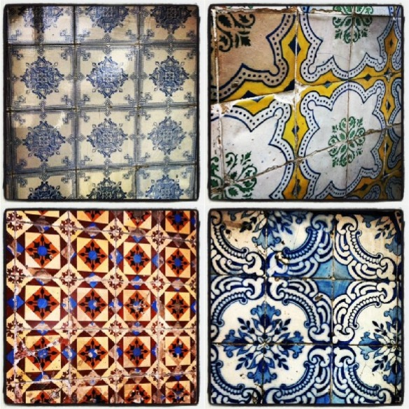 Colourful Old Portuguese Tiles