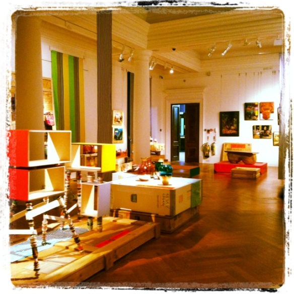 Colourful Design Exhibition Featuring Furniture & Art